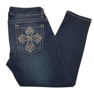 Chinese Laundry Crop Jeans Size 30